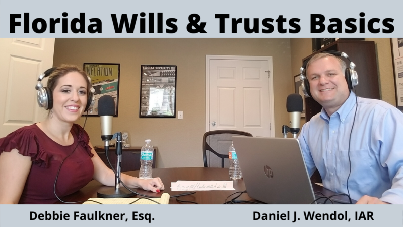 Discussion on the basics of estate plans, trusts, and wills