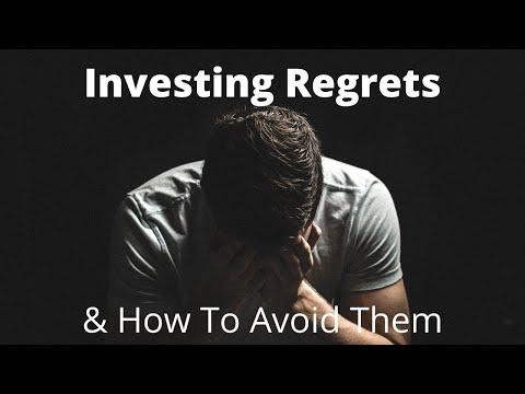 Avoiding Investment Regrets